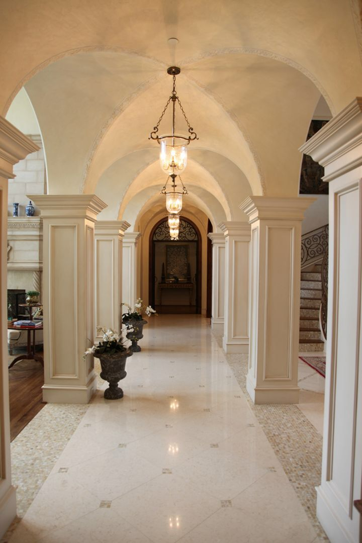 Interior Design Ideas Gallery: Italian Renaissance Groin Vaulted Gallery