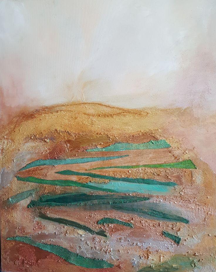 Cuadro acrilico: Fondo Marino Este cuadro es una obra que la realizo porque me gusta investigar en la pintura, trabajar con …