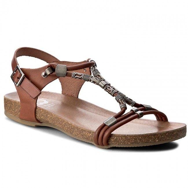 Sandály PORRONET - WP0-2217 Hnědá
