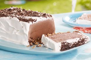 Chocolate Cookie Ice Cream Slice recipe!    I have made this a few times and it is so easy and sooo good! I used Chapman's checkered ice cream so it wasn't as chocolatey. Perfect!!!  Wendy :)
