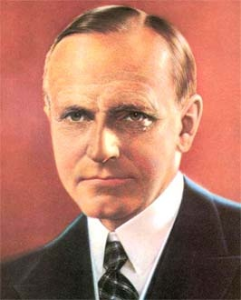 """Thirtieth President - Calvin Coolidge Nickname - """"Silent Cal"""" He used the media to his advantage and was referred to as """"the most photographed persons on earth.""""He"""