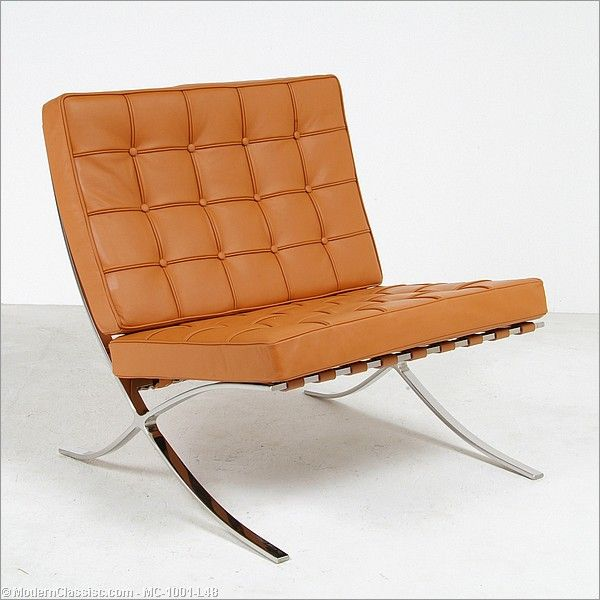 35 best saddle leather images on pinterest for Best barcelona chair replica