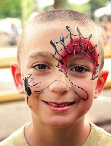 aranha-e-teia-fantasia-de-ultima-hora_mais-de-50-ideias-para-pintura-facial-infantil