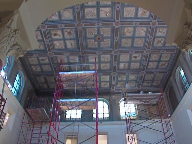 """""""My Ohio"""" video features ICA #conservation & cleaning of Allen Memorial Art Museum"""