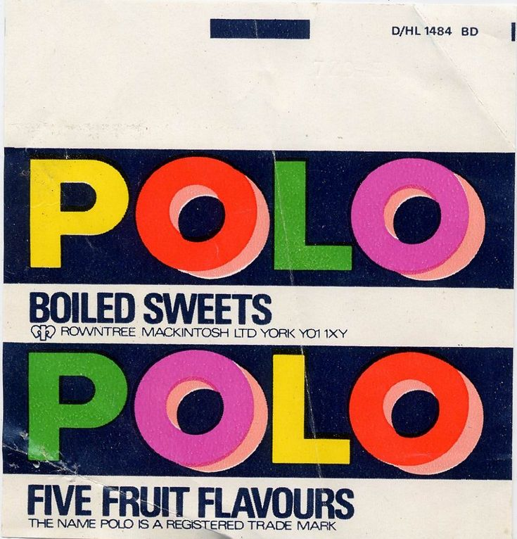 polo fruits - (But they were a bugger when they all stuck together!) lol