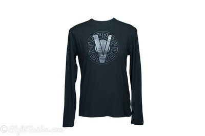 VERSACE JEANS COUTURE V Logo T-Shirt Size M