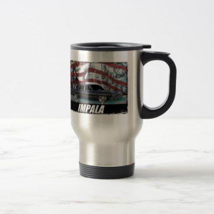 1964 Impala Sedan Travel Mug - home gifts ideas decor special unique custom individual customized individualized