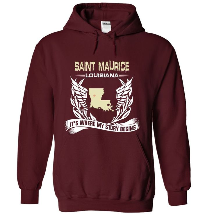 Saint Maurice-LAN02 Cool MAURICE Name T Shirt ⓛⓞⓥⓔ