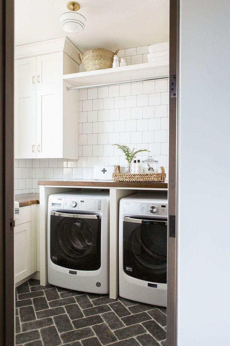 Best 25 brick tile floor ideas on pinterest brick floor for Masters laundry