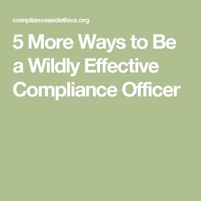 20 best Compliance Culture Blog images on Pinterest Management - hart security officer sample resume