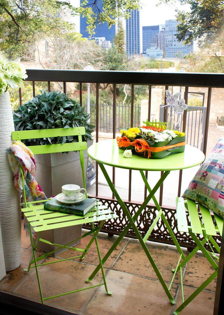 Decoracion 4 consejos para decorar terrazas peque as - Muebles para terraza pequena ...