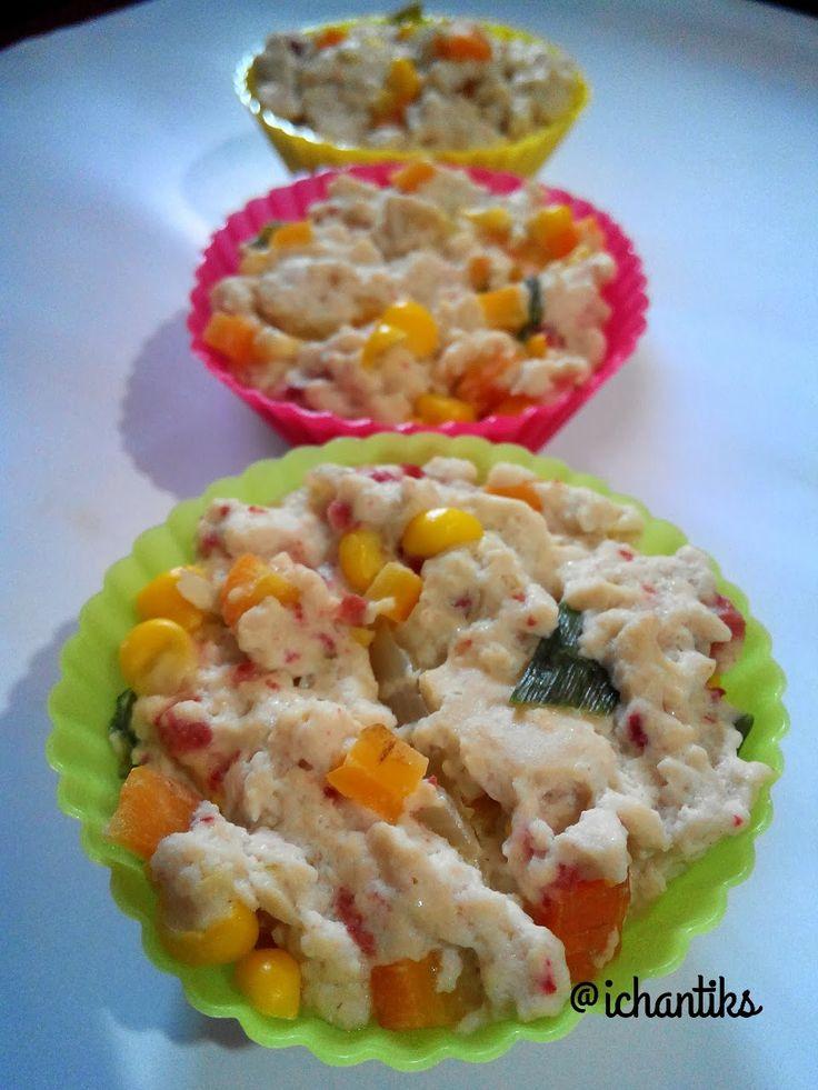 Cerita Mami Kenzie: Resep MPASI: Tahu Kukus Sayuran (9m+)
