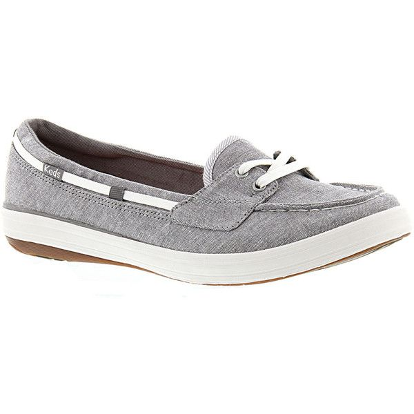 Keds Grey With Blue Laces Shoes