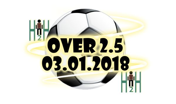 Daily Bet Tips H2H Daily Bet Tips H2H, H2H Stats for 28.01.2018  OVER 2.5 Suggestions for Today Daily Bet Tips H2H is our section for soccer h2h stats analysis, all Daily Bet Tips H2H stats are analyzed, only the best are selected and delivered to our visitors, Here are Todays Daily Bet Tips H2H, choose wisely, not always H2H Stats make winning predictions. Our team is analyzing all Daily Bet Tips H2H for the next days, in order to bring you the best Daily Bet Tips, also to help you with…