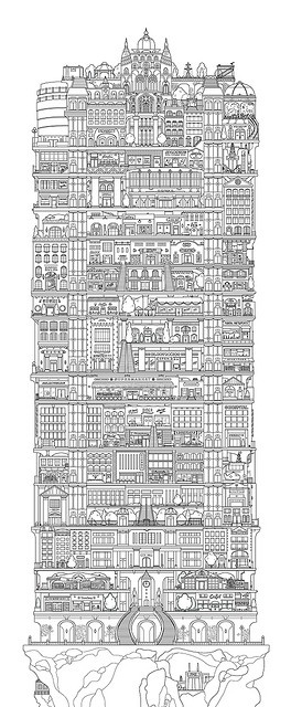 Vertical cities. When I was a kid my Dad and I would discuss the future of the planet and living situations (he's an architect) someday we'll get here...