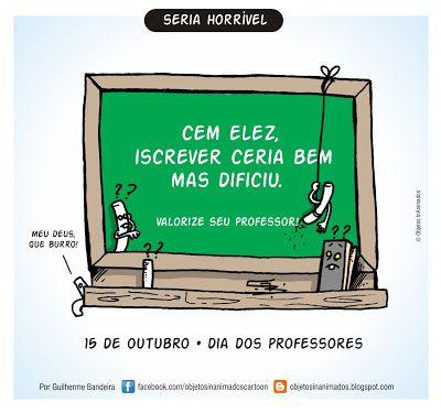 Objetos InAnimados: Homenagem aos Professores.
