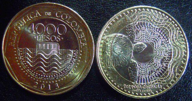 Las nuevas monedas colombianas