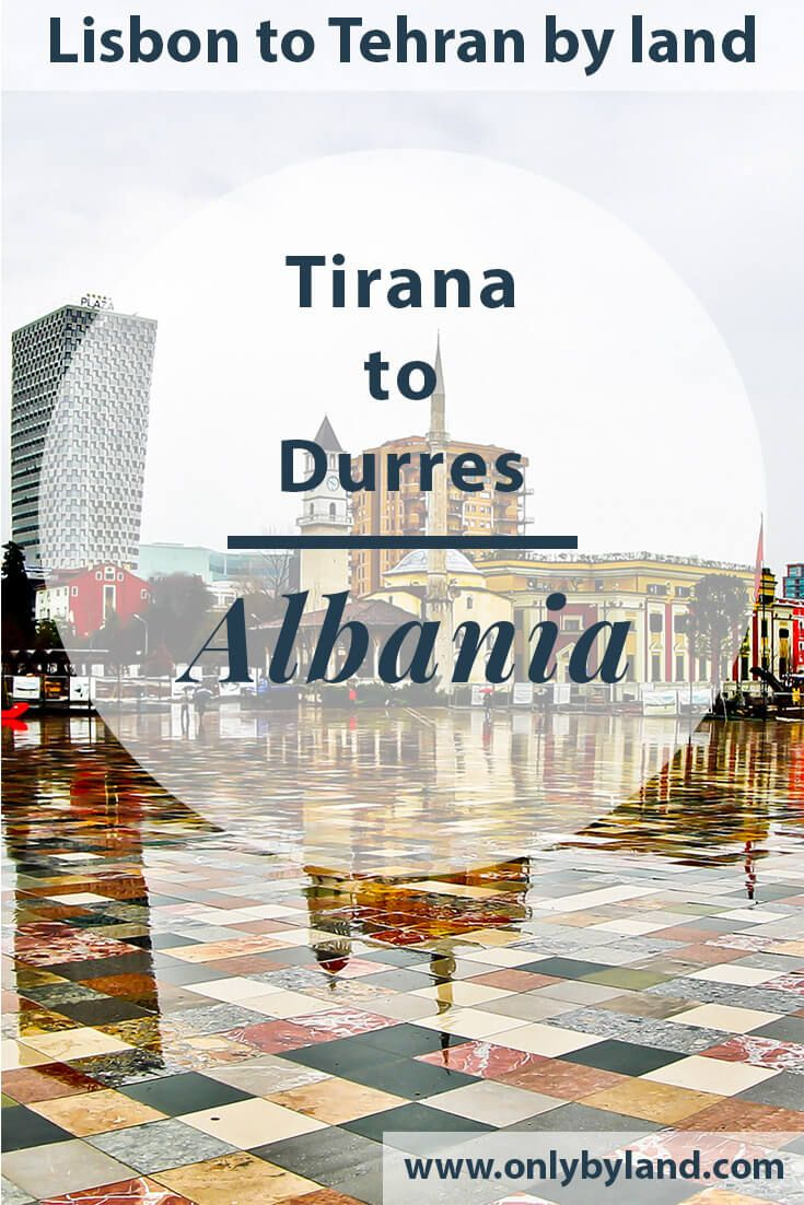 Tirana Albania - What to see including a huge pyramid and a cloud