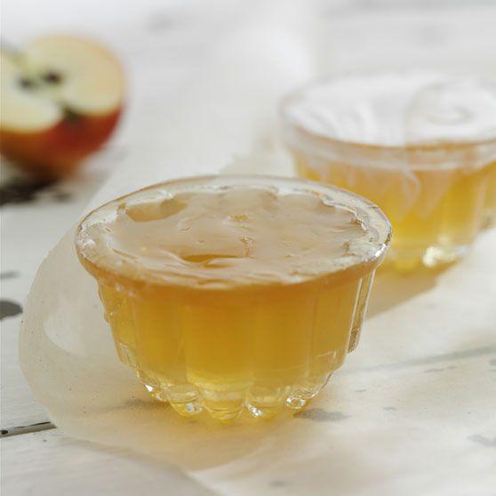 Æblegelé med calvados