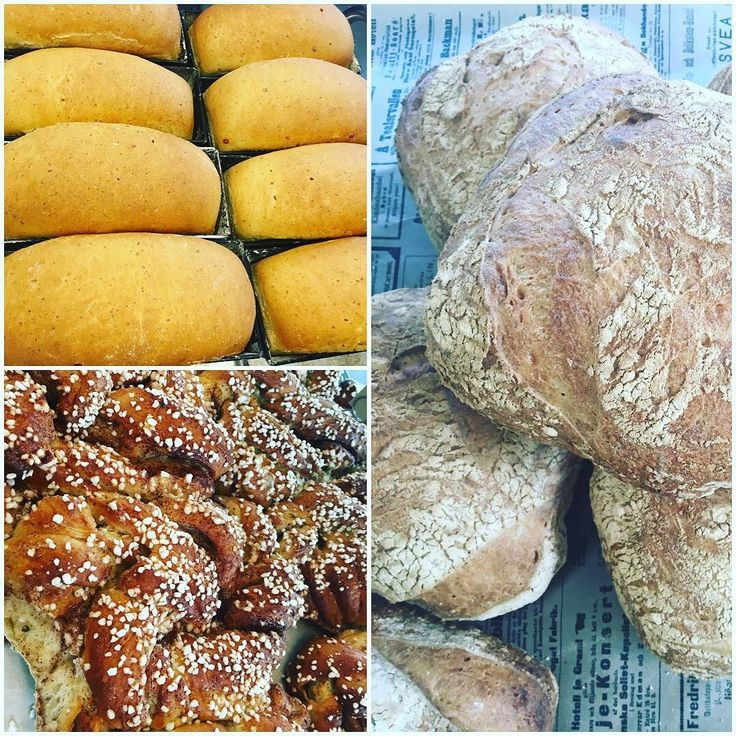 Godmorgon kära kunder idag har vi Västerbottenbröd grahamsfrallor kanelbullar lingonbröd med mera! Öppettider idag 7-14! Välkomna