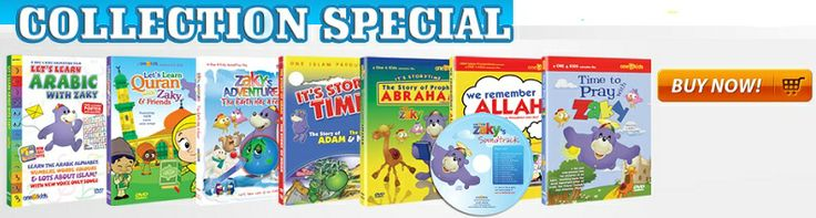 Muslimzon.com online Islamic store - official distributors of Learning Roots, One4kids (Zaky DVDs) & Ali-gator