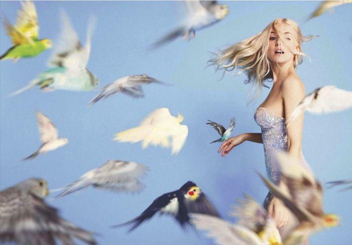 Ryan McGinley. Sienna Miller for Vogue April 2012
