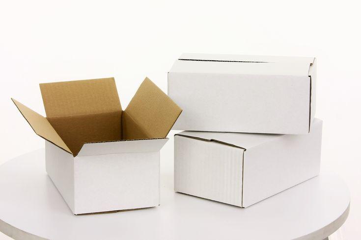 #Versandschachtel  140 x 90 x 45mm Stärke / Qualität: - Schichten: 3 - Welle: 1-wellig-B-Welle - Stärke: 400G/qm - Farbe: weiß  #Faltkarton #Schachtel #Karton #Verpackung #Versand #Verpackungsmaterial