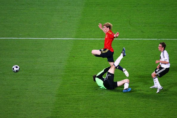 Fernando Torres goal, Germany v Spain - UEFA EURO 2008 Final