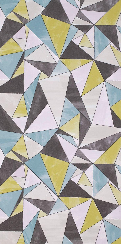 Mimou wallpaper origami multi