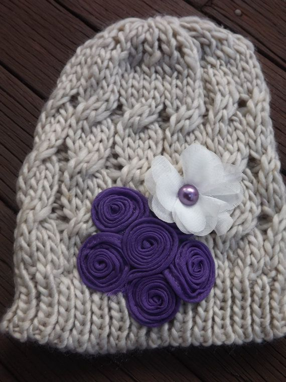 Beautiful Handcrafted Embellished Beanie by MelsMadewithlove, $20.00