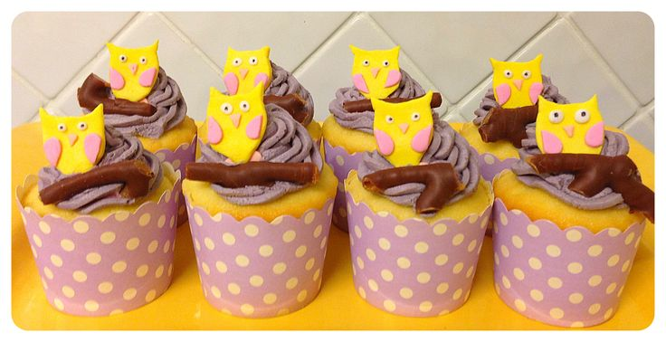 Owl Cup Cakes!