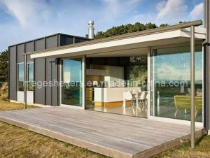 ISO Certificated Prefabricated Container House as Beach Villa