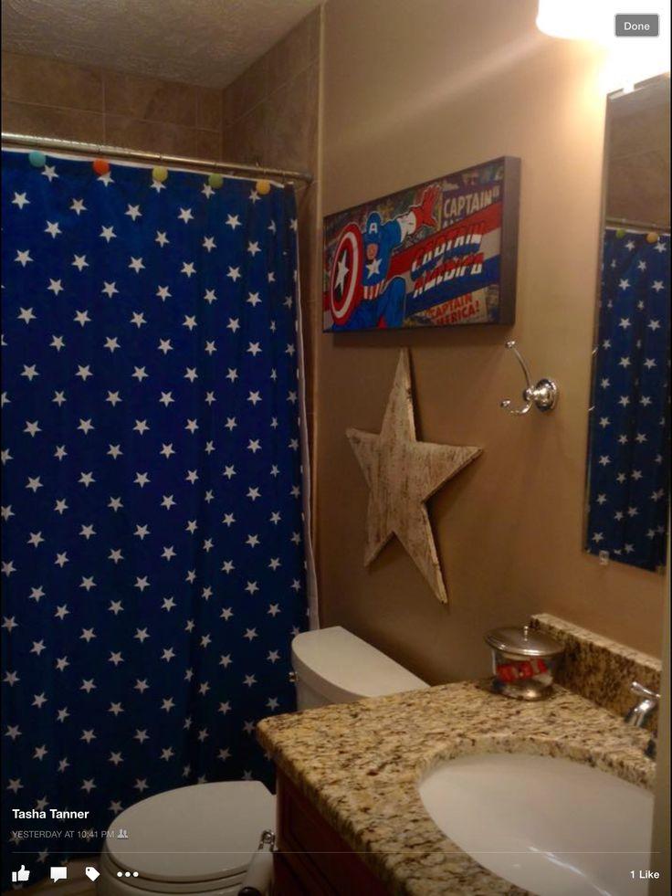 9 best images about captain america bathroom on pinterest bathroom ideas captain america and - Marvel superhero bathroom accessories ...