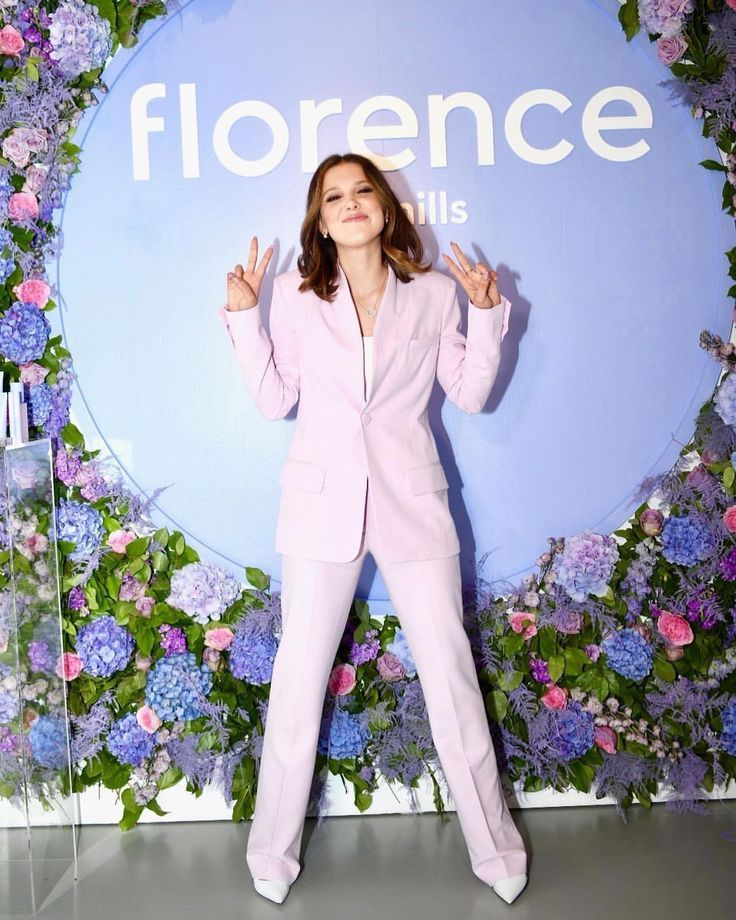 Stranger Things Millie Bobby Brown Promoting Florence By Mills Skincare Line Season 3 Eleven Bo Millie Bobby Brown Bobby Brown Bobby Brown Stranger Things