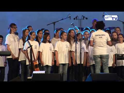 Siklósi Kanizsai Dorottya Általános iskola kórusa 2015 06 28 - YouTube