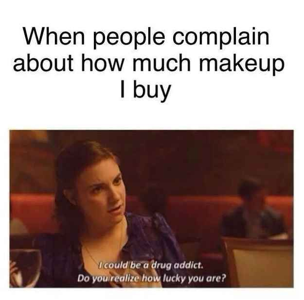 This personal attack. Especially since someone said I have 20lbs make up bag lol