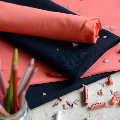 2x1 Rib, Black   NOSH Fabric Summer 2016 Collection - Shop online at en.nosh.fi   Kesän 2016 malliston kankaat saatavilla nyt verkosta nosh.fi