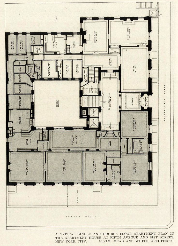 Nyc apartment building floor plans for Newest floor plans