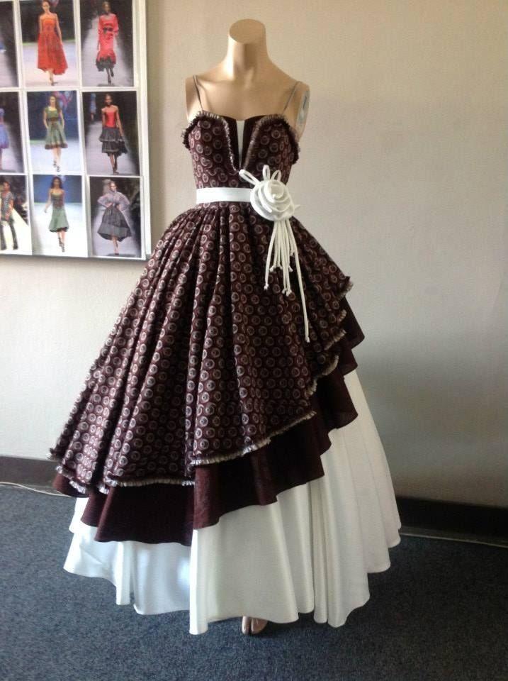 Shweshwe mermaid wedding dresses 2016