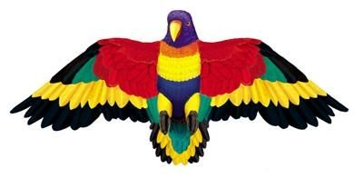 Just listed our new Wildlife Rainbow ...  . Check it out http://www.offthewalltoysandgifts.com/products/wildlife-rainbow-parrot-bird-wing-flapper-kite-55-wingspan?utm_campaign=social_autopilot&utm_source=pin&utm_medium=pin