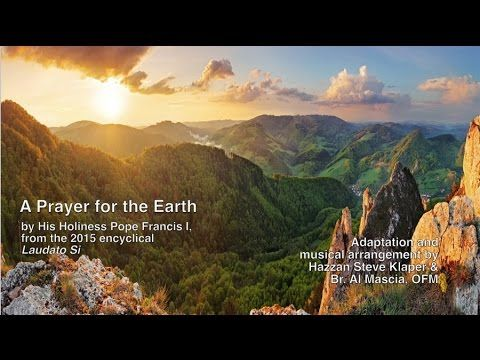 Join us on as we celebrate World Day of Prayer for the Care of Creation - September 1, 2015. A Prayer for the Earth
