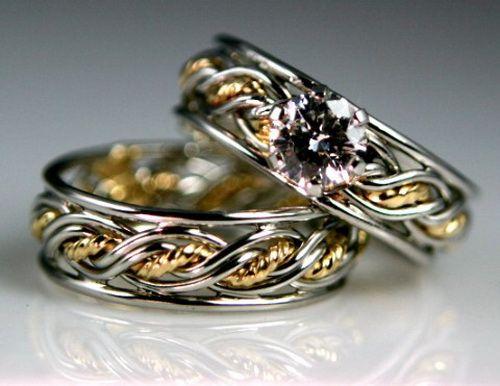 lesbian unique wedding rings Romance Lesbian Wedding Rings