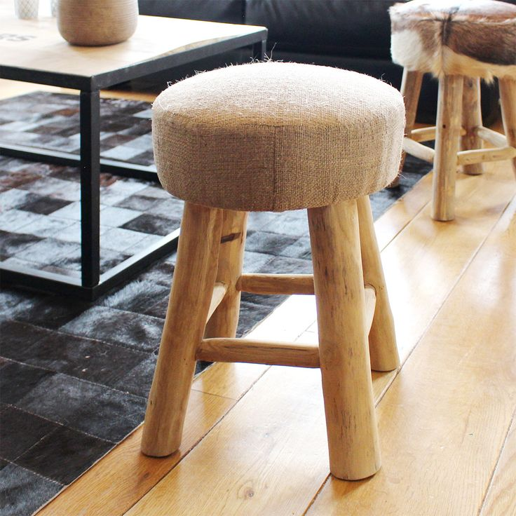 8 best Teck - Made in Meubles images on Pinterest Hessian fabric
