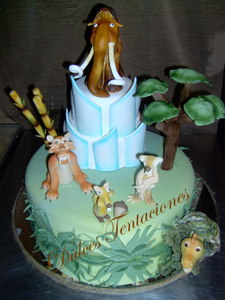 Ice Age Cake   Ice Age