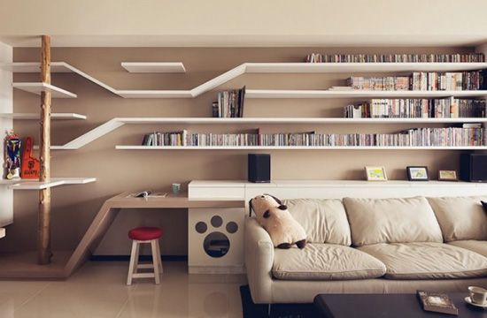 Thinking Design Perfect Cat House Taiwan Cat Climbing Shelves.  When I grow up and win the lotto
