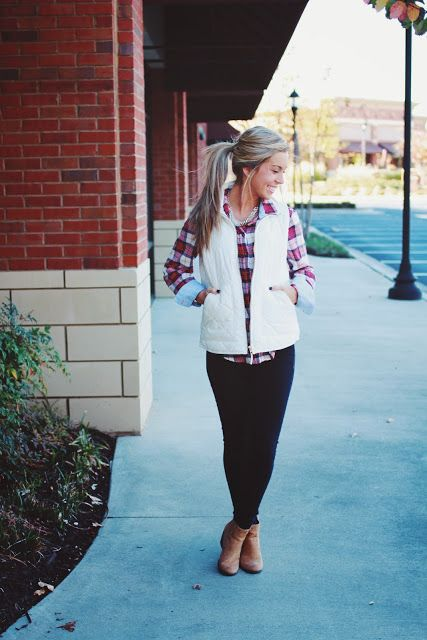 Her Lovely Style: Tis' The Season For Flannels