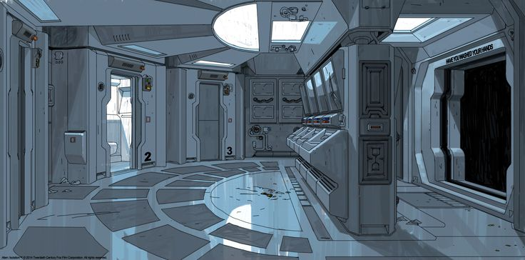 ArtStation - Alien: Isolation Concept art, Edouard Caplain