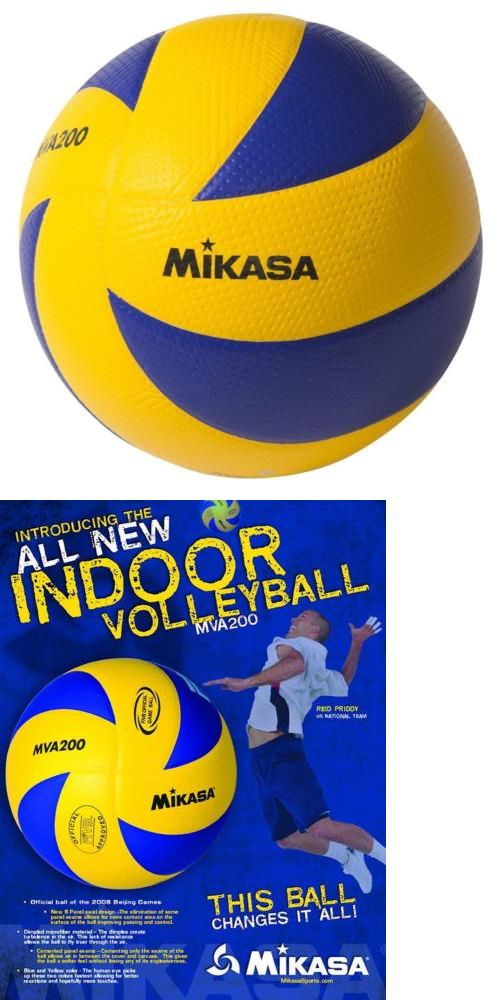 Volleyballs 159132: Mikasa Mva200 Indoor Volleyball -> BUY IT NOW ONLY: $54.59 on eBay!