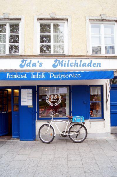 Geheimtipp in München: Ida's Milchladen am Sendlinger Tor.