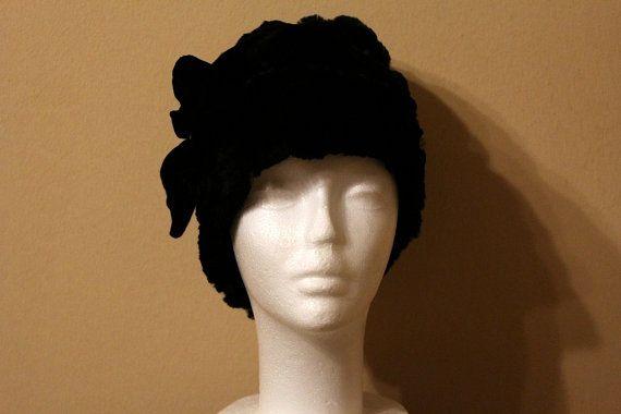 cappello Cloche pelliccia castoro donna di Larettacollections